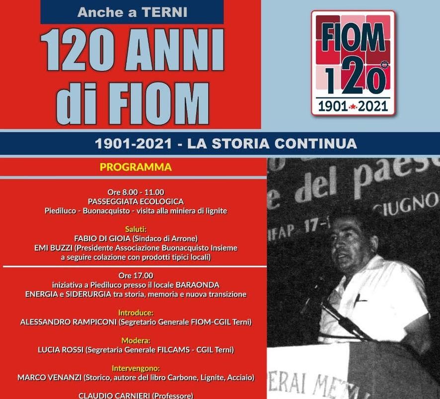 FIOM 120 ANNI